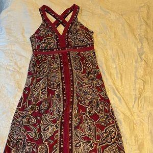 INC Maxi print dress